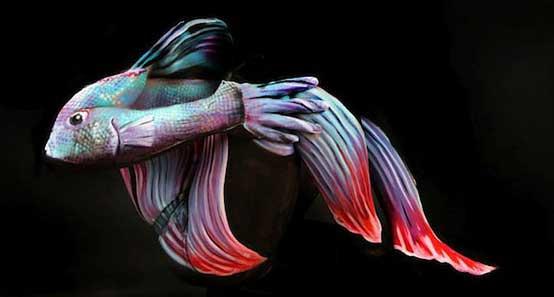amazing-body-painting-aqua-fish