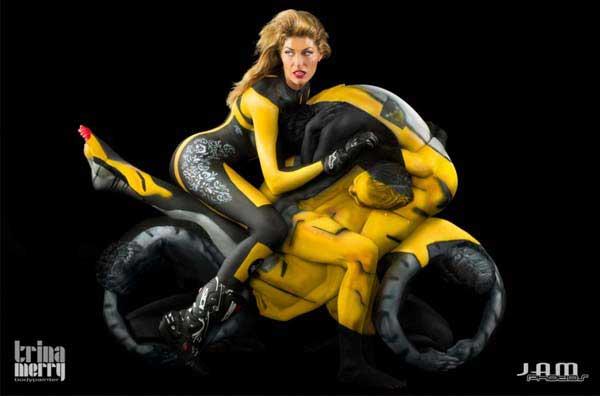 amazing-body-painting-human-motorcycle