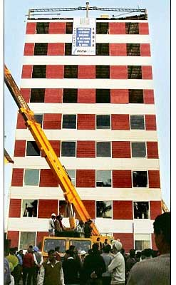 fastest-constructed-building-instacon-mohali-india