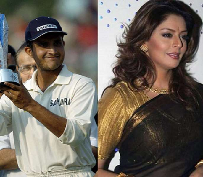 top-10-cricketers-relation-with-bollywood-celebrities-Nagma-and-Sourav-Ganguly