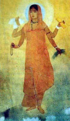top-10-famous-indian-paintings-Bharat-Mata