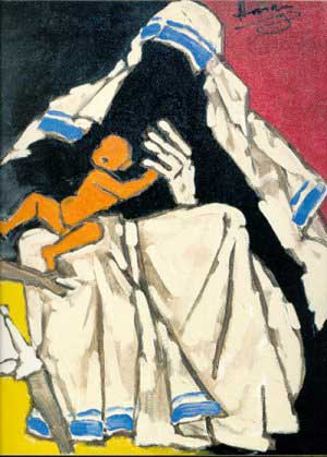 top-10-famous-indian-paintings-Iconic-paintings-of-Mother-Teresa