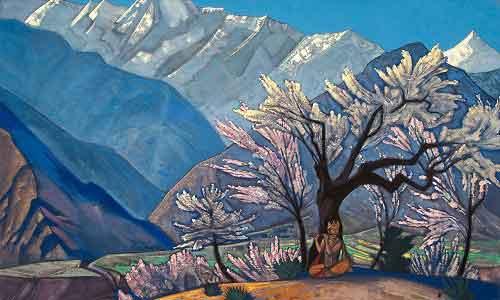 top-10-famous-indian-paintings-Krishna-Spring-in-Kullu