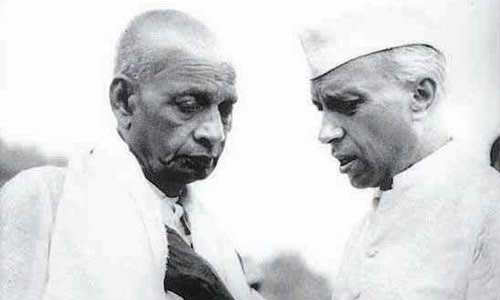 8-un-known-facts-of-sardar-ptel-Last-confrontation-with-Nehru
