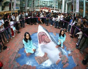 amazing-painting-on-streets-3d-shark