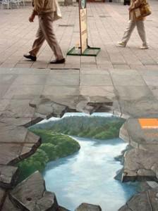 amazing-painting-on-streets- Beautiful underworld