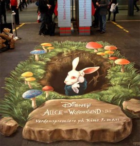 amazing-painting-on-streets-alice-in-wonderland-3d