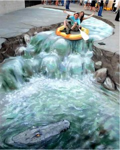 amazing-painting-on-streets-crazy-river