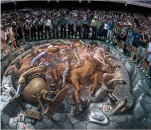 amazing-painting-on-streets-horses