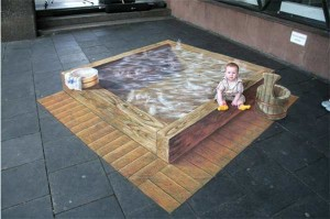 amazing-painting-on-streets-hot-bath