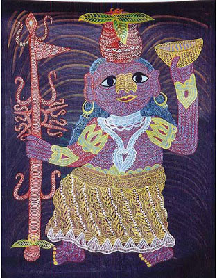 indian-folk-art-tribal-art-paintings-styles-Gond-Tribal-Art