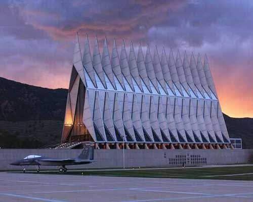 wonders-of-modern-architecture-air-force-academy