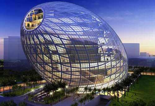 wonders-of-modern-architecture-cyber tecture egg-mumbai, india