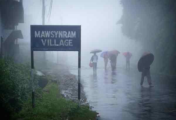 mawsynram-village
