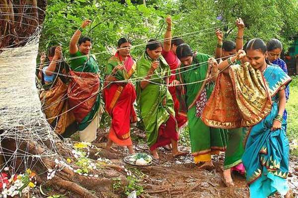 Pipal-tree-worship