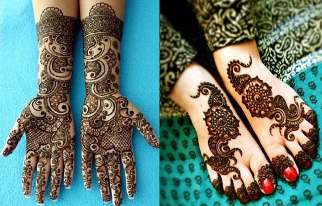 mehndi-designs-for-hands-and-feet-due-to-Hinduism