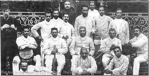 first-indian-cricket-team
