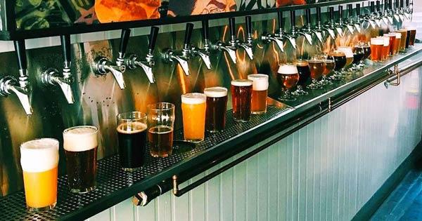 बियर ATM में 24 नल लगे हैं