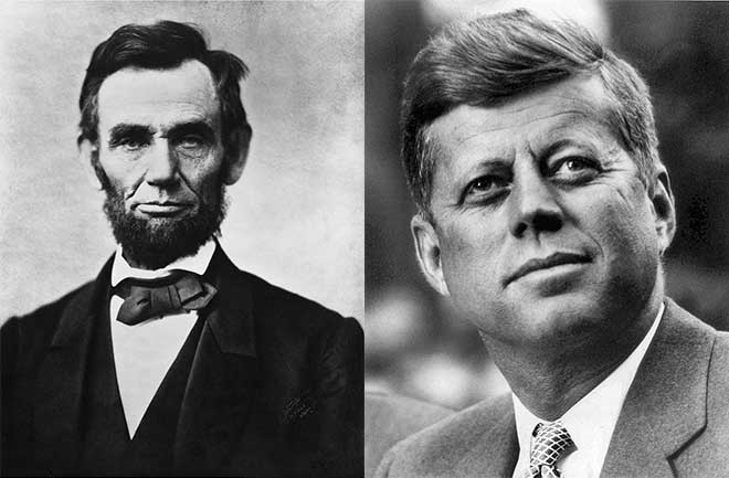 दो अमेरिकी राष्ट्रपति